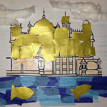 Harimandir Sahib collage