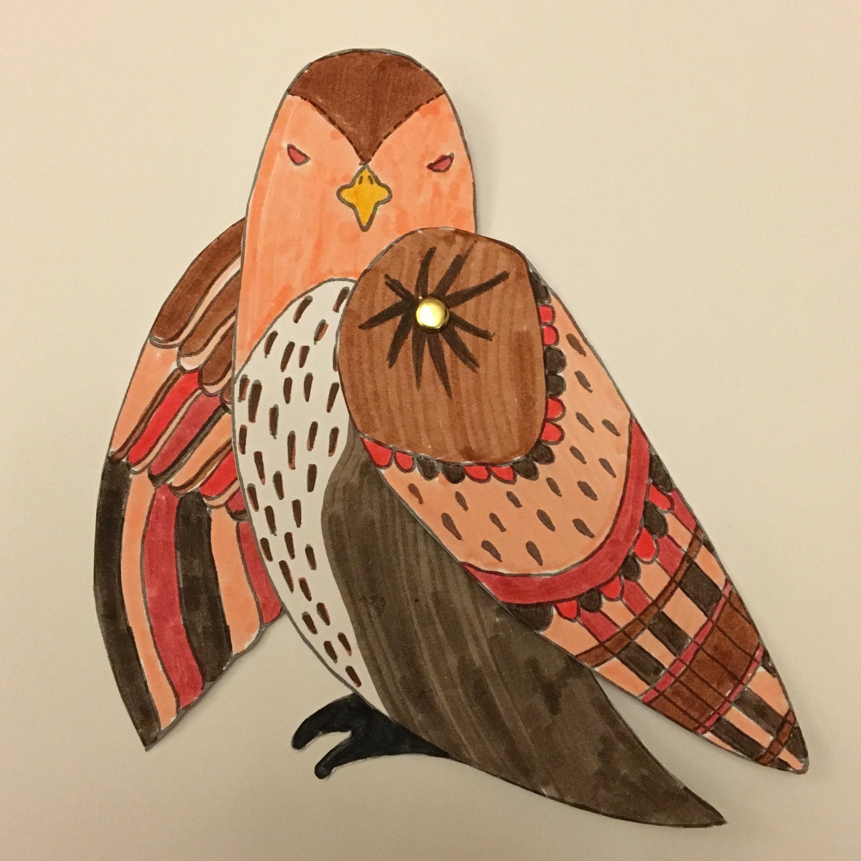 Guru Ji's Hawk - Kiddie Sangat craft