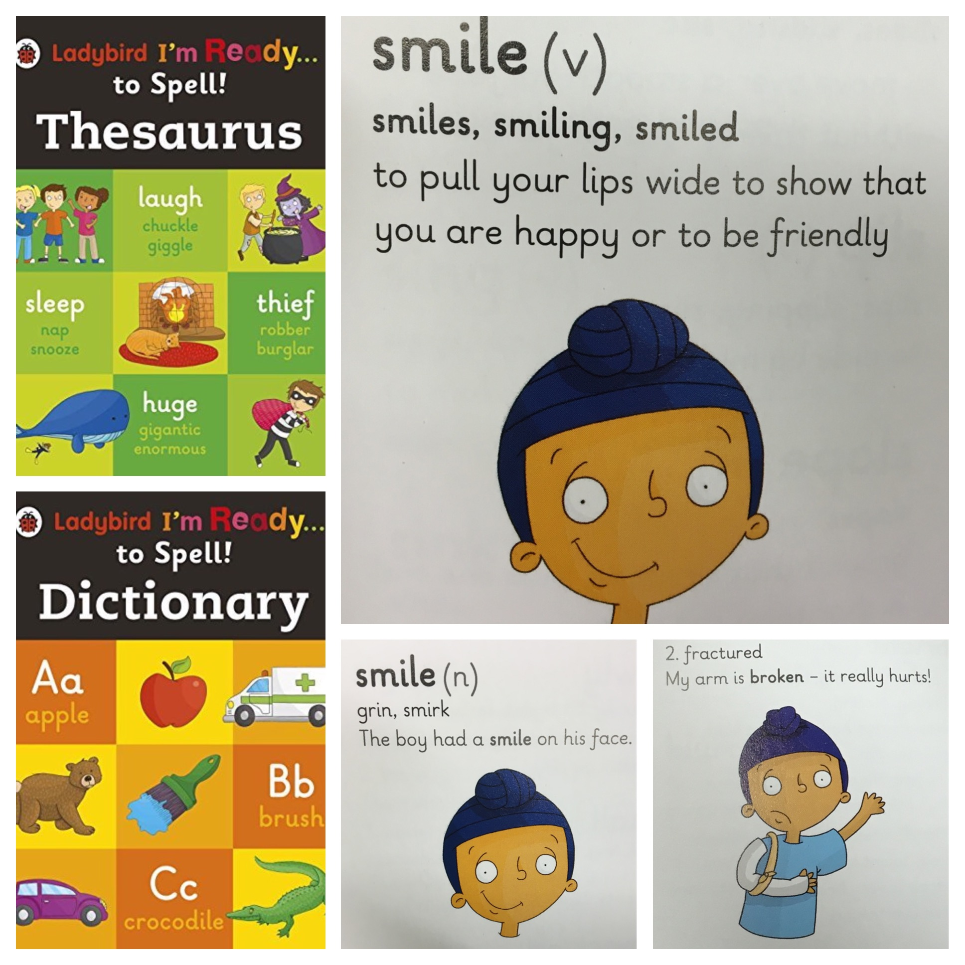 Ladybird Thesaurus & Dictionary - Little Singh character