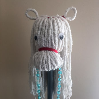 Mop Horse - Kiddie Sangat craft