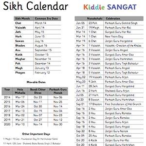 Sikh Calendar